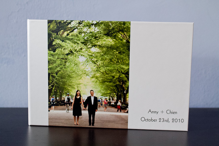 unique guest signing books using your engagement photos casey