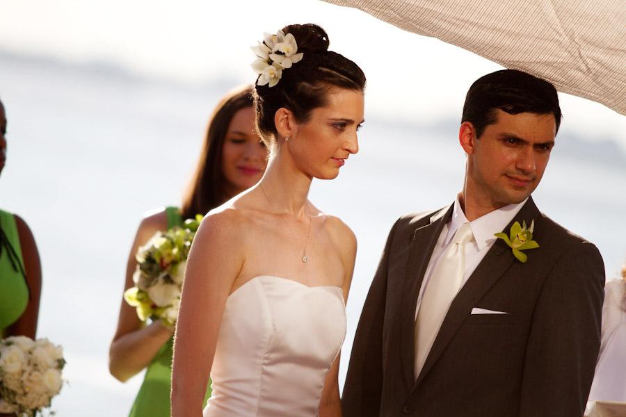 brooklyn waterfront wedding ceremony