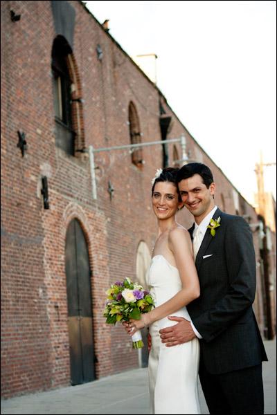 liberty warehouse bride and groom