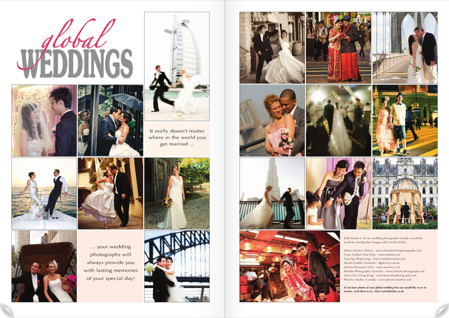 Global Weddings photography feature