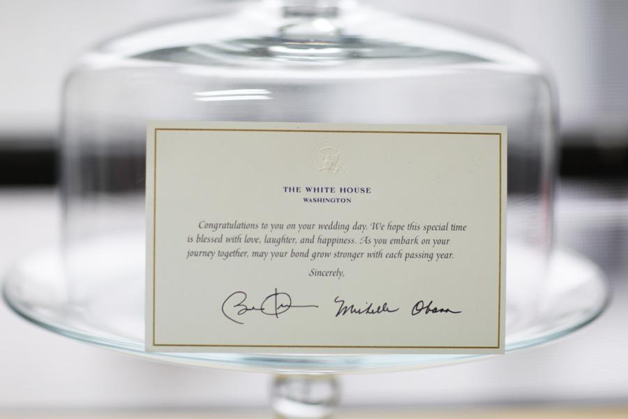 White House Wedding Invitation Response