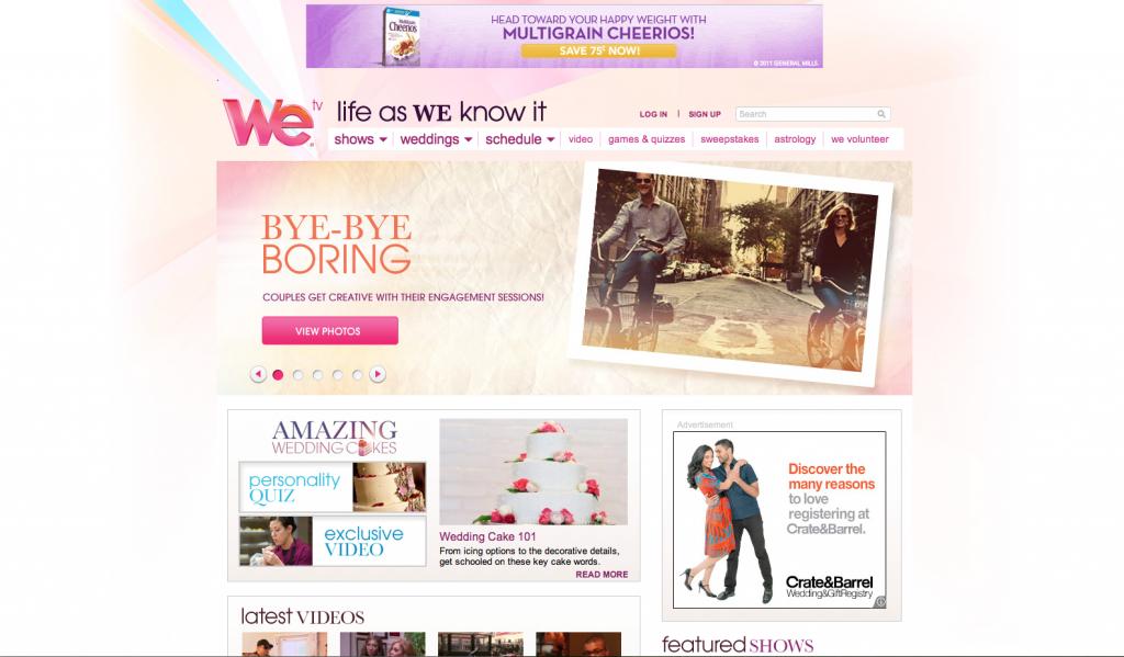 Engagement photo article on WeTV.com