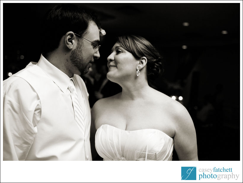 bride and groom candid moment