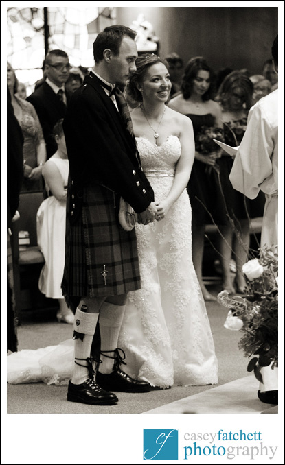 groom in kilt wedding