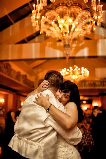 eastwinds long island wedding bride groom dancing