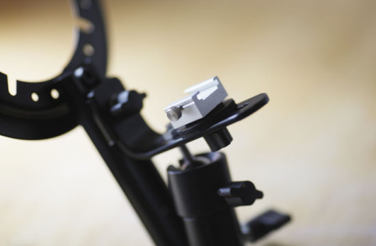 MacGuyver-ed softbox mounting