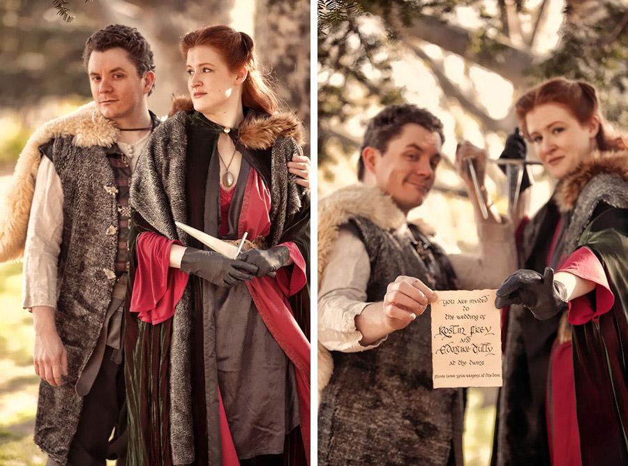 Game of Thrones wedding