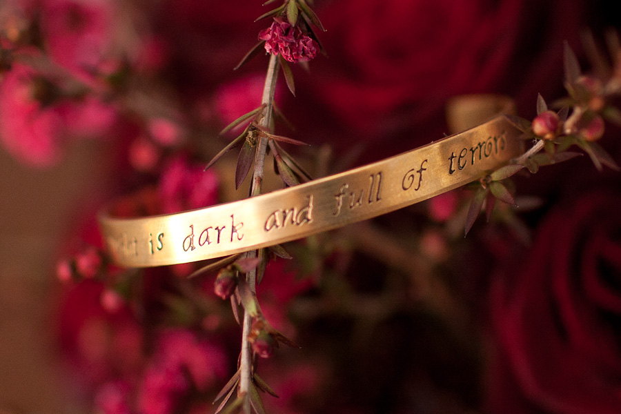 Game of Thrones the night is dark and full of terrors bracelet