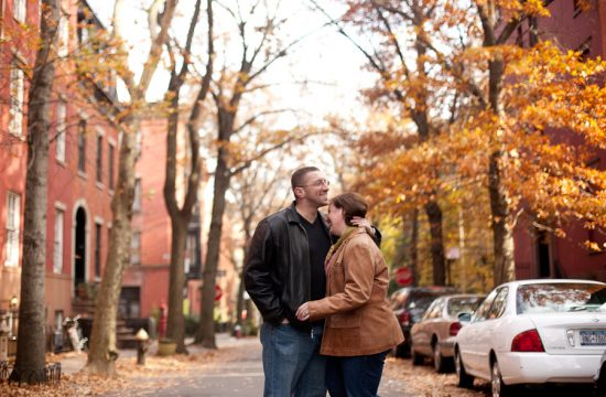 Brooklyn engagement photo session