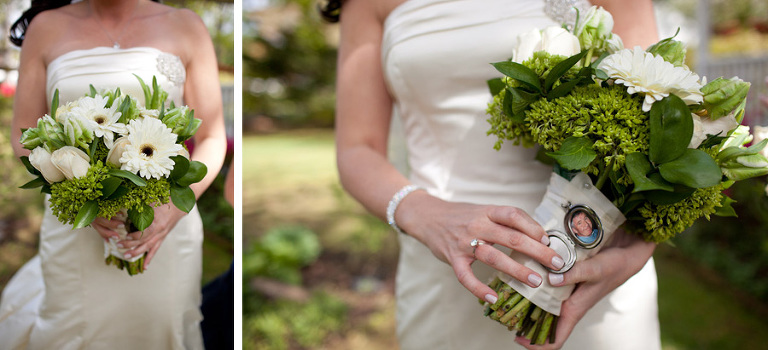 Check Out Her Gorgeous Bouquet And I Find The Locket With Photo A Great Way To Remember Loved One Who Could Not Be At Wedding