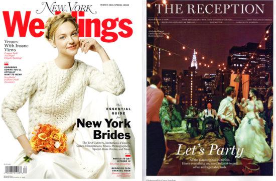 Casey Fatchett Photography New York Magazine Wedding Issue