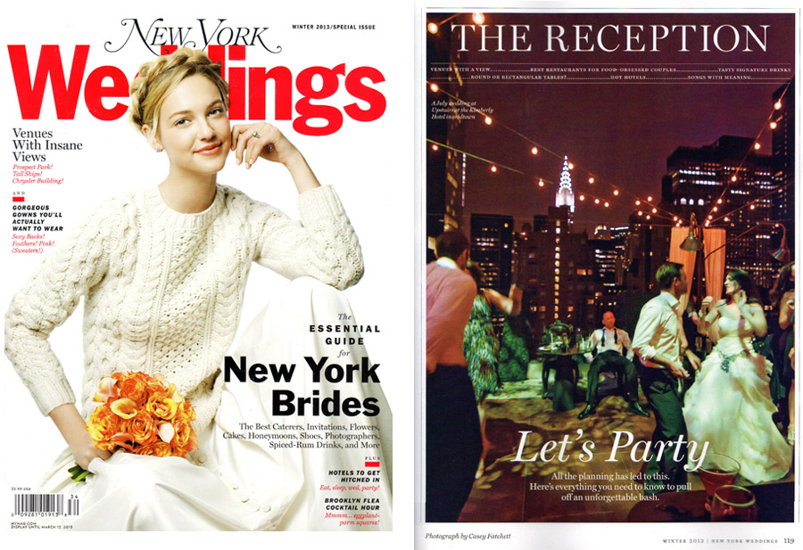 Casey Fatchett Photography New York Magazine Wedding Issue