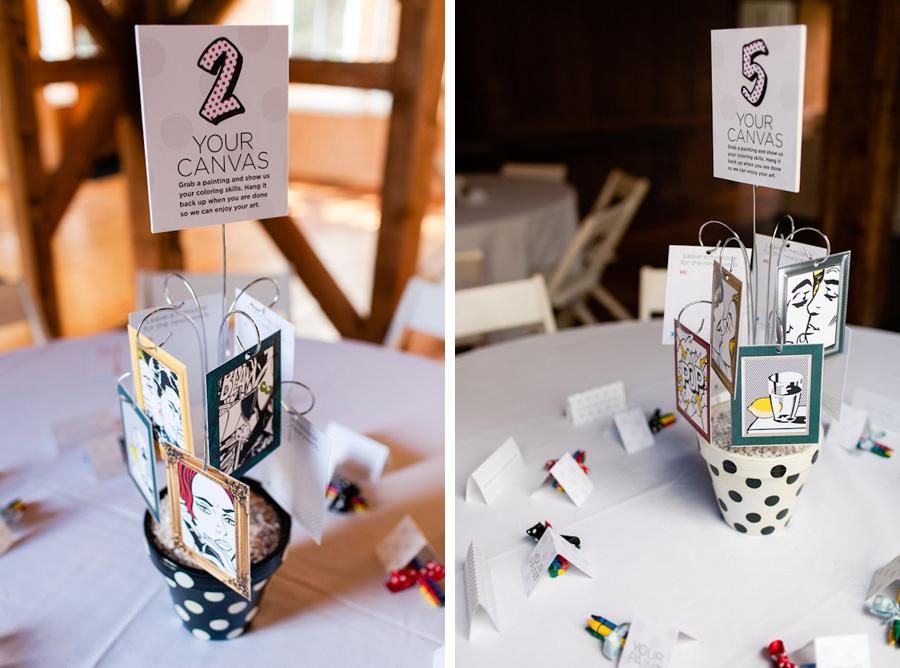 Dayna + Aaron: DIY Lichtenstein Polka Dot Pop-Art Comic Book ...
