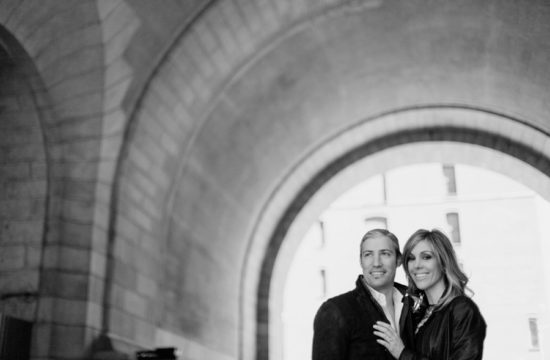 DUMBO Brooklyn engagement photo session