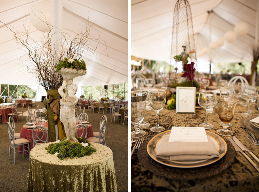 Rustic Elegance Steampunk Themed Wedding Centerpieces