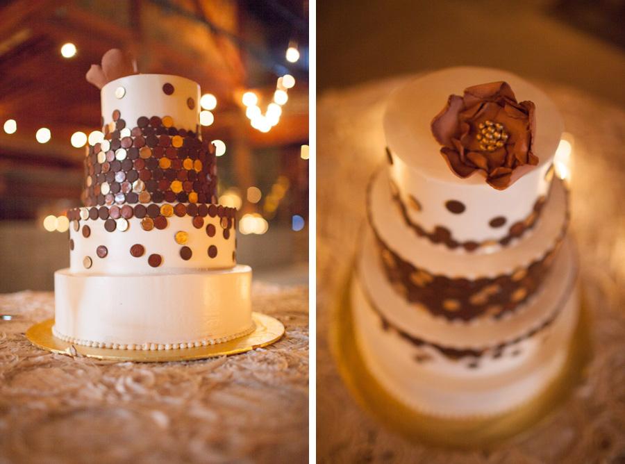 california destination wedding photographer steampunk wedding cake