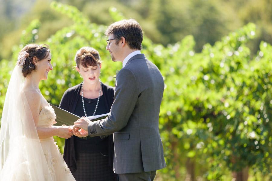 Napa Valley Sonoma California vineyard wedding