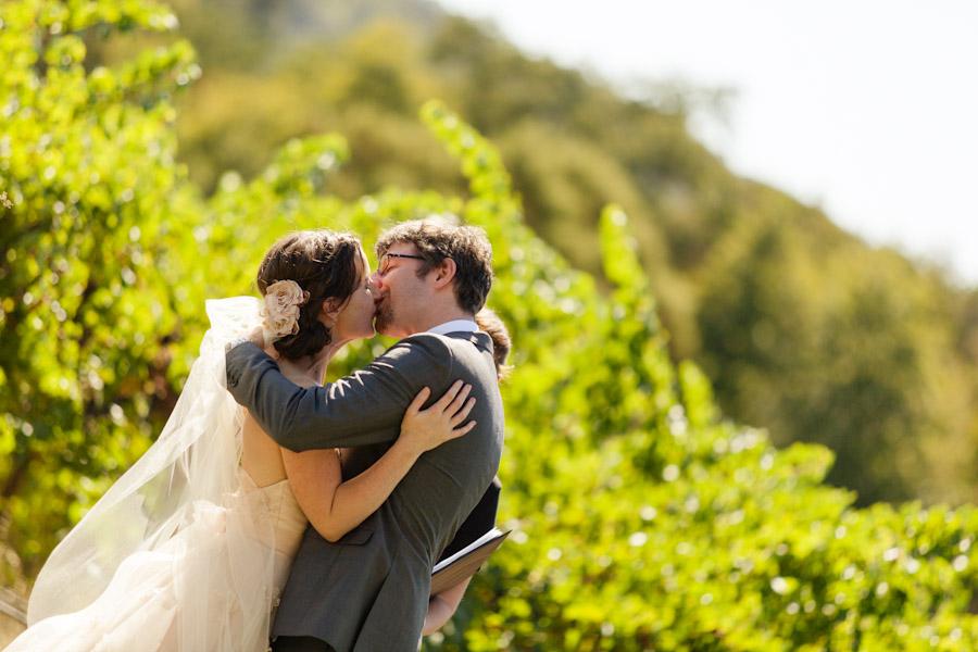 California vineyard wedding Napa Valley
