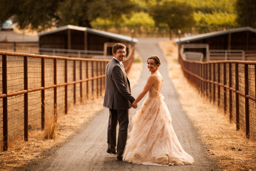 california destination wedding photographer bride and groom at sunset