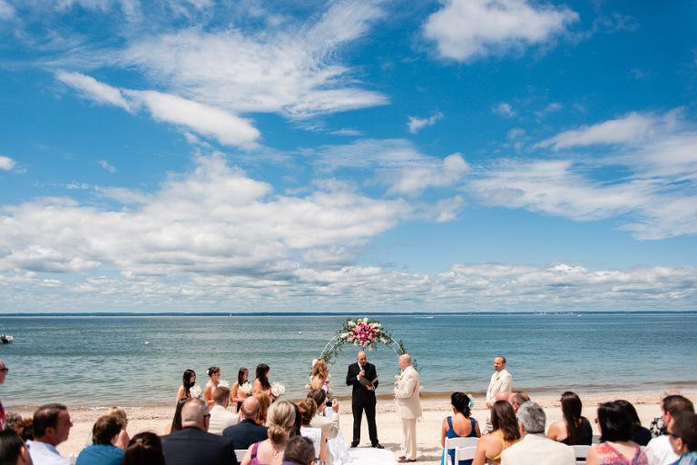 Celina + Phil: Long Island Beach Wedding