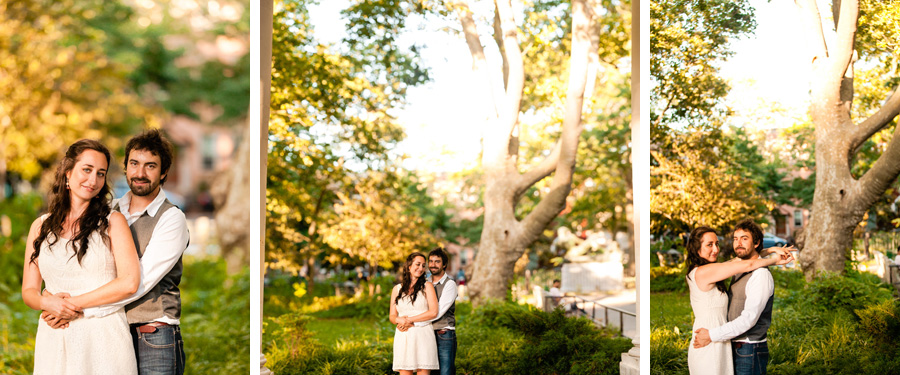 new york city brooklyn engagement photo session by casey fatchett photography