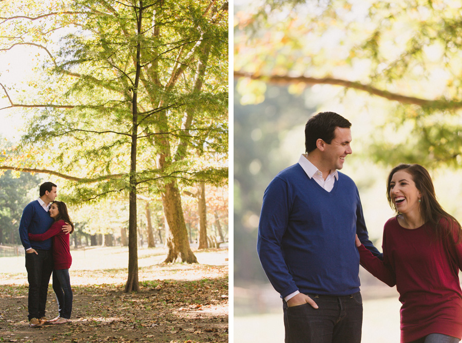 Riverside Park New York City engagement session by Casey Fatchett Photography