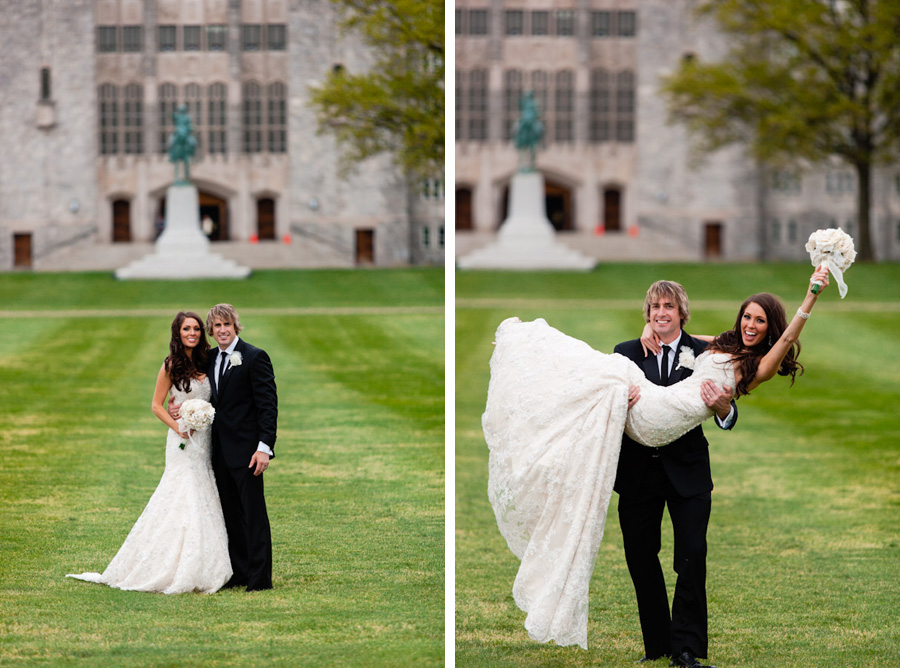 West Point wedding by Casey Fatchett