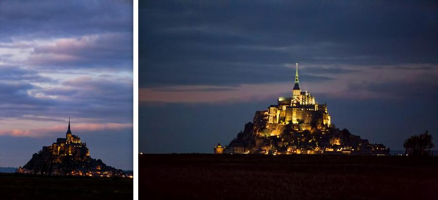Mt St Michel Abbey by Casey Fatchett