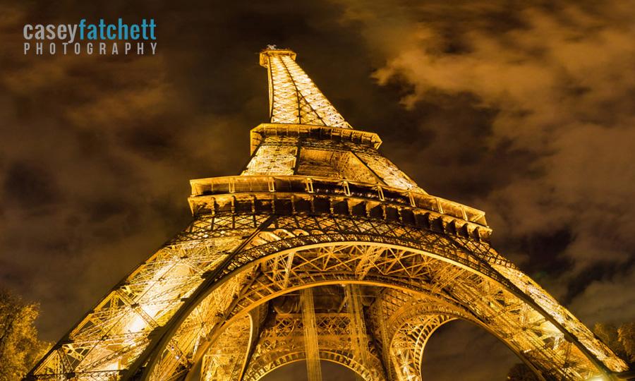 Eiffel Tower photographed by Casey Fatchett