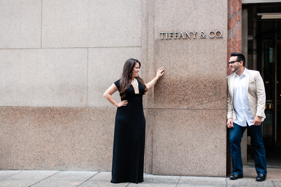 Tiffanys engagement photo session photographed by Casey Fatchett