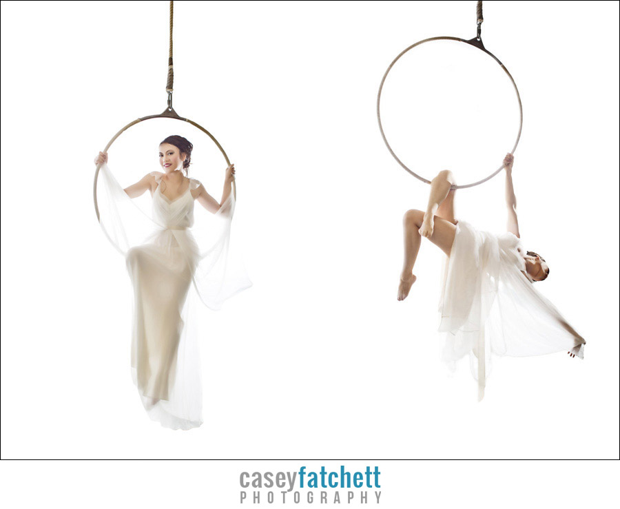 bridal fashion aerialists by casey fatchett