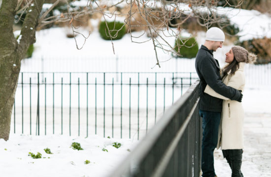 snow engagement photos by Casey Fatchett