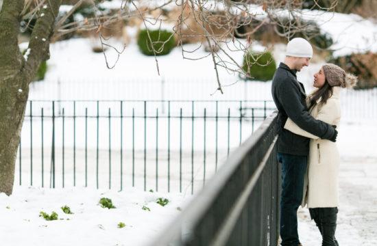 snow engagement photos by Casey Fatchett