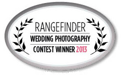 Winner of Rangefinder Magazine Wedding Photography Contest
