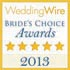 WeddingWire Bride's Choice Award 2013