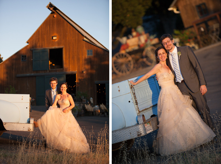 sunset wedding photos by Casey Fatchett