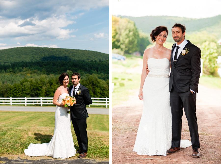 sunny wedding photos