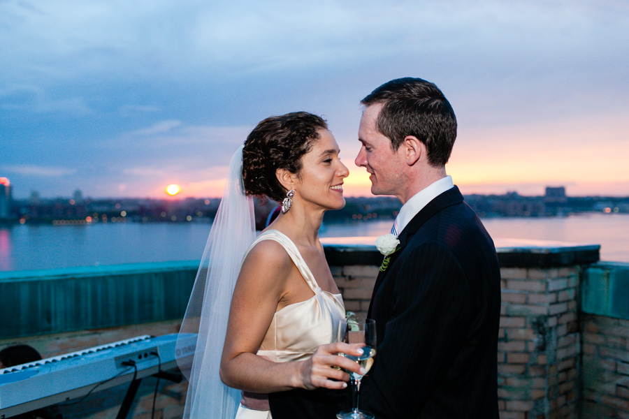 sunset cloud wedding picture by casey fatchett