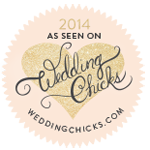 Featured on Wedding Chicks 2014