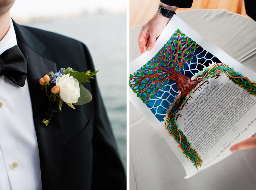 Wedding details - Liberty Warehouse - photo by Casey Fatchett