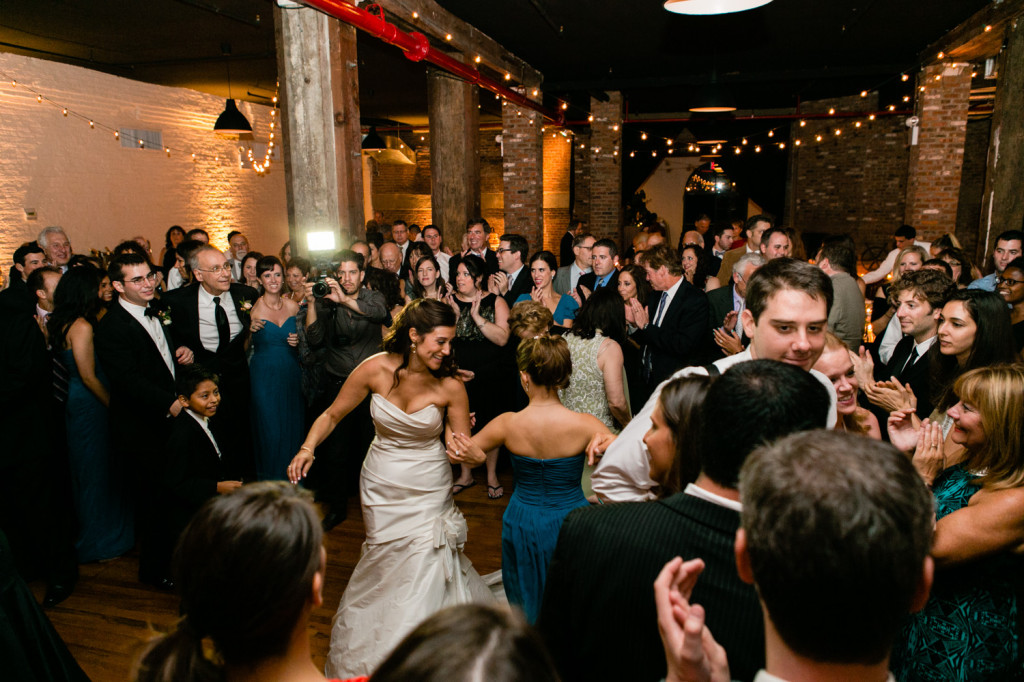 Liberty Warehouse wedding in Brooklyn, New York by Casey Fatchett Photography