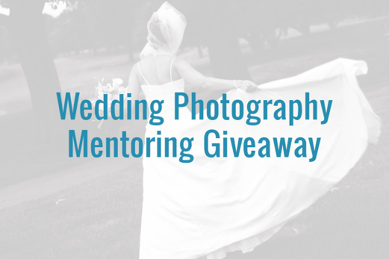 Wedding Photography Mentoring Contest Giveaway
