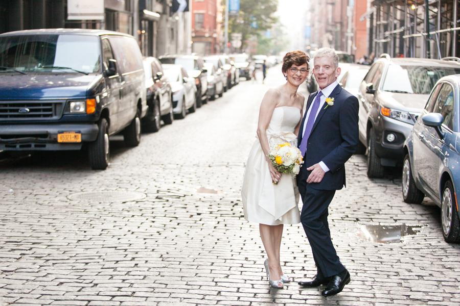 Manhattan wedding at Housing Works Bookstore by Casey Fatchett