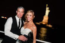 Wedding reception on a boat NYC - photos by Casey Fatchett - www.fatchett.com