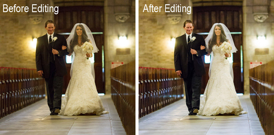 do you know the difference between editing and retouching