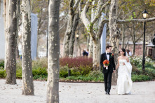 New York City wedding at Battery Gardens photographed by Casey Fatchett