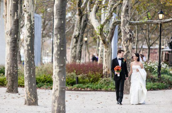 New York City wedding at Battery Gardens photographed by Casey Fatchett