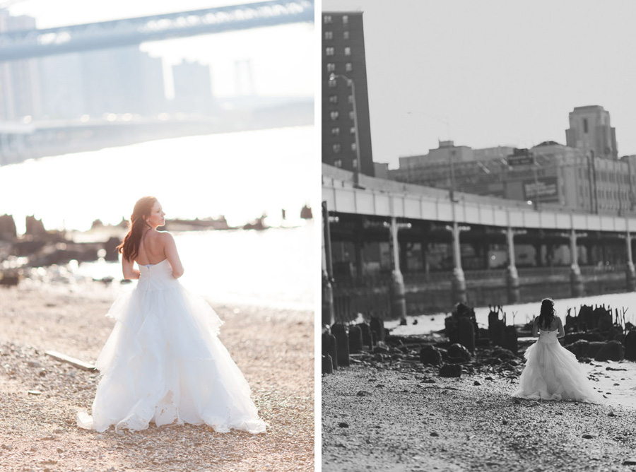Bridal fashion shoot - Reem Acra dress - photos by Casey Fatchett - www.fatchett.com