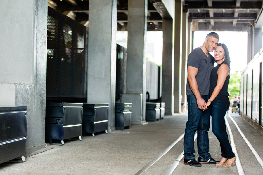 New York City Highline Park Engagement Session - photo by Casey Fatchett - www.fatchett.com