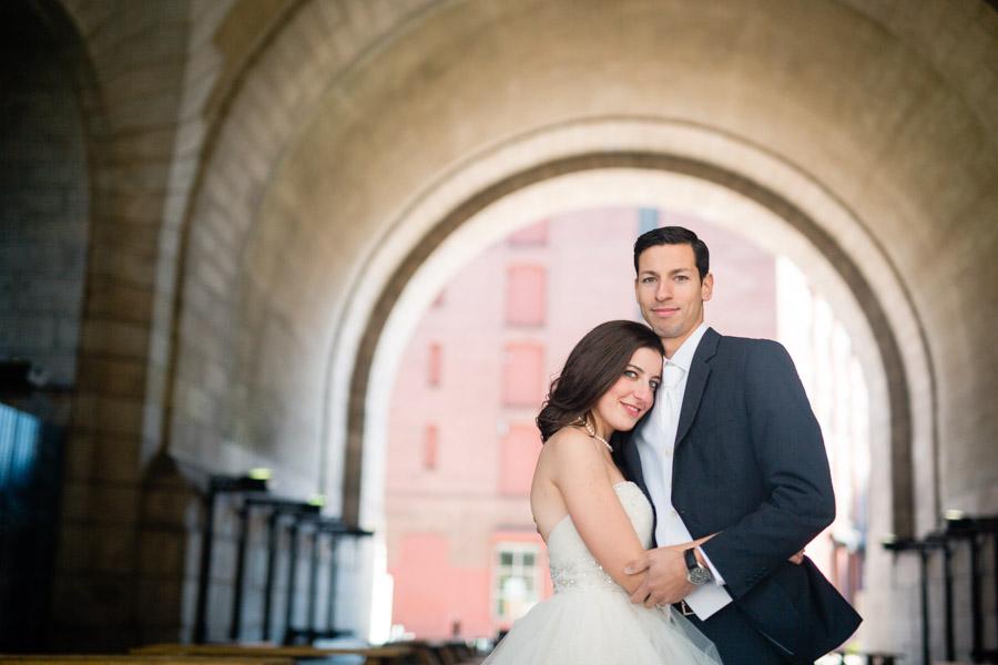 Brooklyn wedding anniversary photo shoot